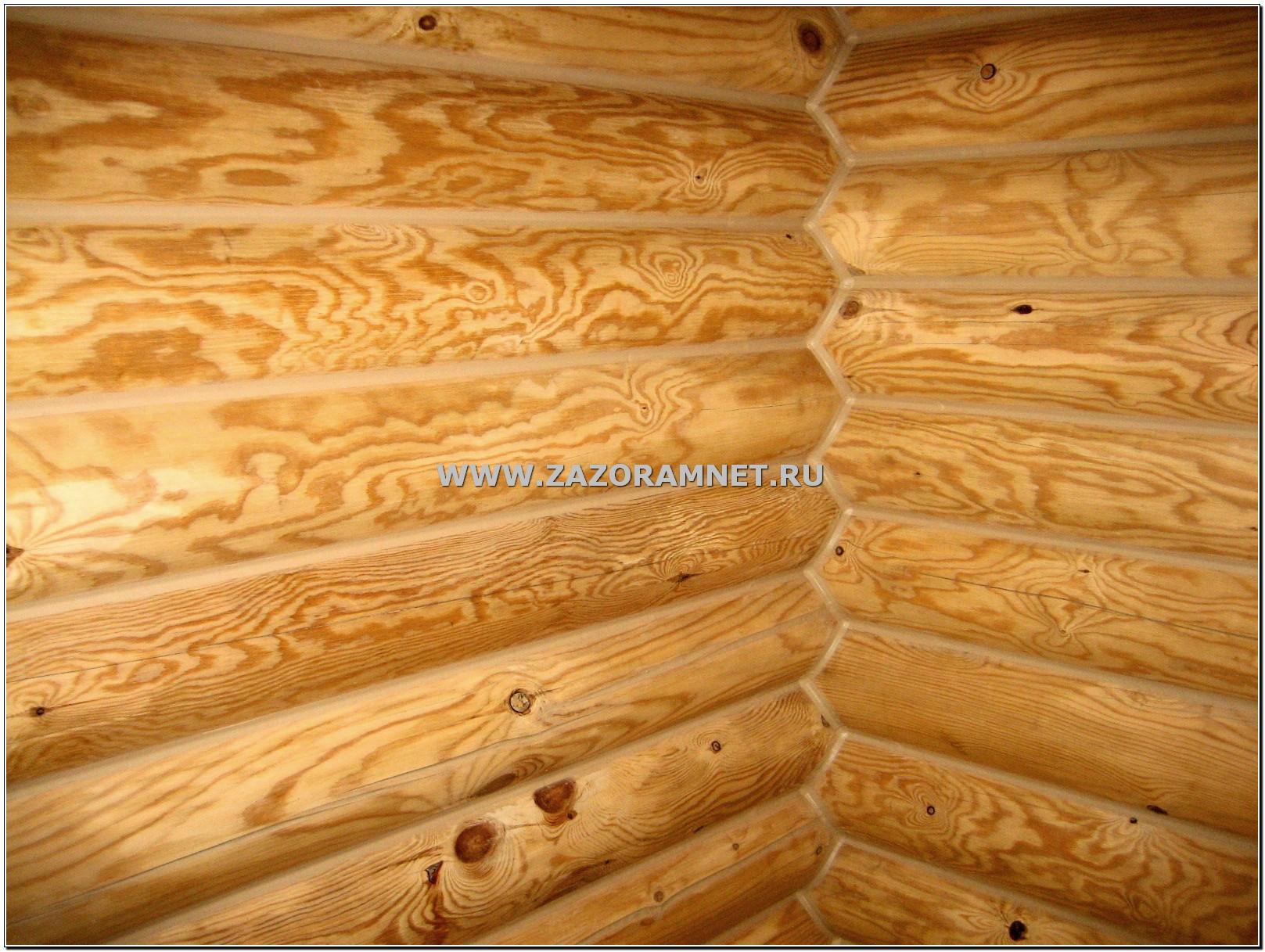 бревенчатый дом утепление герметиком