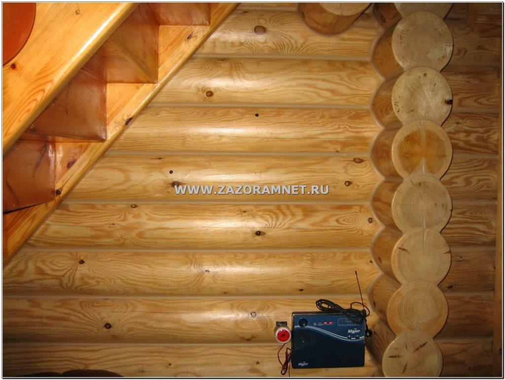 теплый шов для деревянных домов
