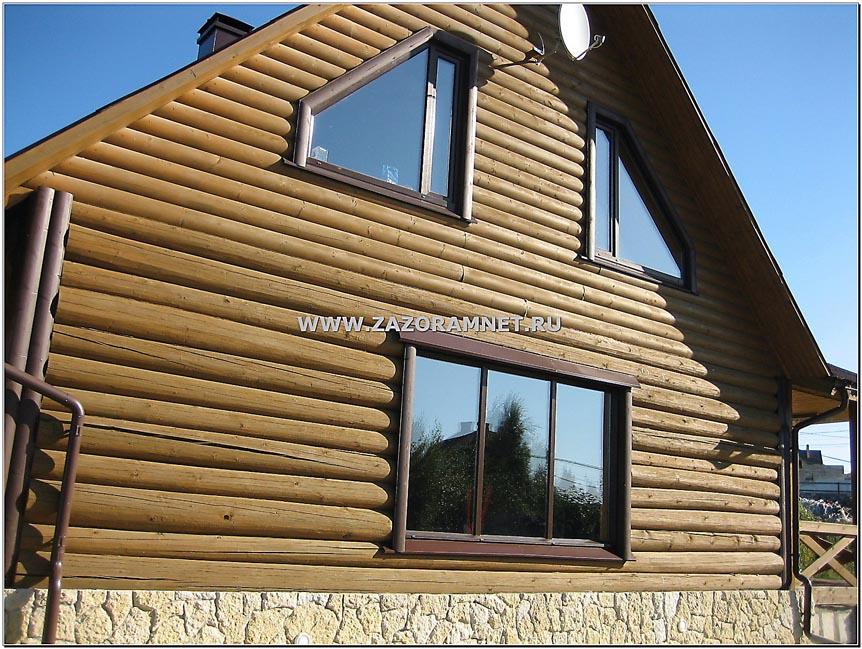 Герметизация трещин деревянных домов