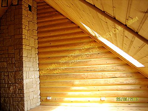 утепление деревянной мансарды