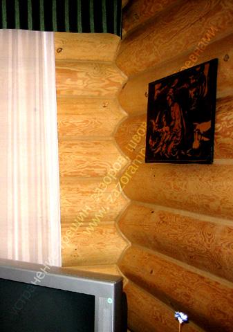 фото утепление гостиной деревянного дома