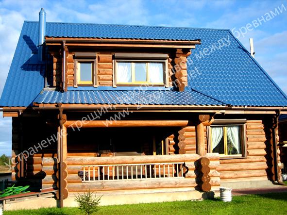 альтернатива конопатке деревянного дома