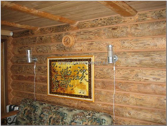 утепление комнаты отдыха бани