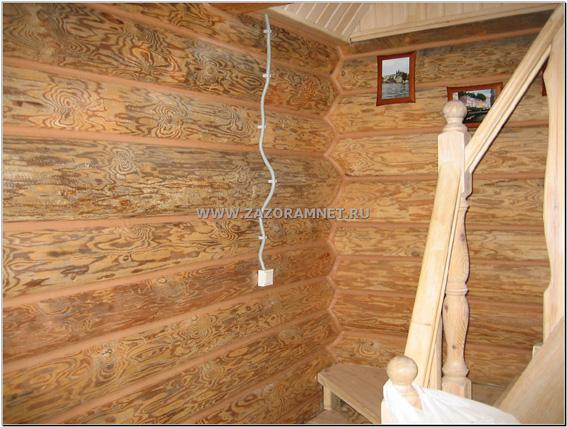 утепление комнаты отдыха рубленой бани