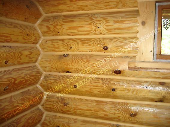 утепления стен изнутри деревянного дома