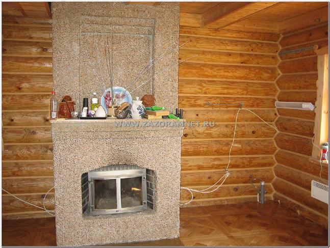 утепление внутренних стен рубленого дома